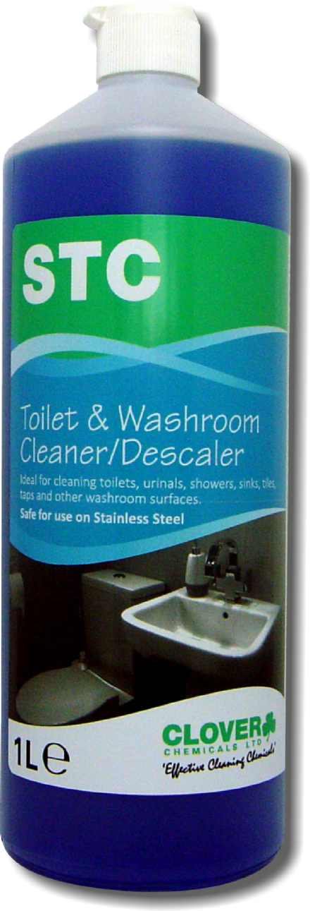Clover STC Acidic Toilet and Washroom Cleaner